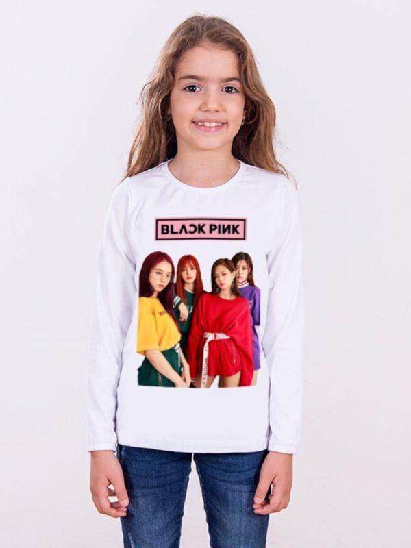 خرید اینترنتی تیشرت دخترانه سفید رنگ از ترکیه