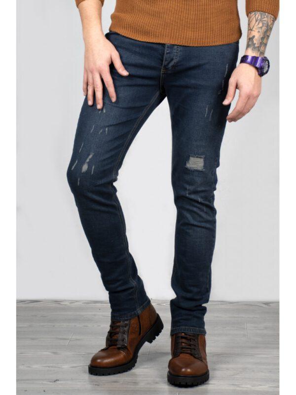 خرید اینترنتی شلوار جین مردانه آبی رنگ برند DeepSEA از ترکیه