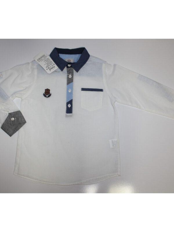 خرید اینترنتی پیراهن سفید پسرانه ارسال از ترکیه