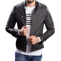 خرید اینترنتی ژاکت چرم مردانه برند oliggopol از ترکیه