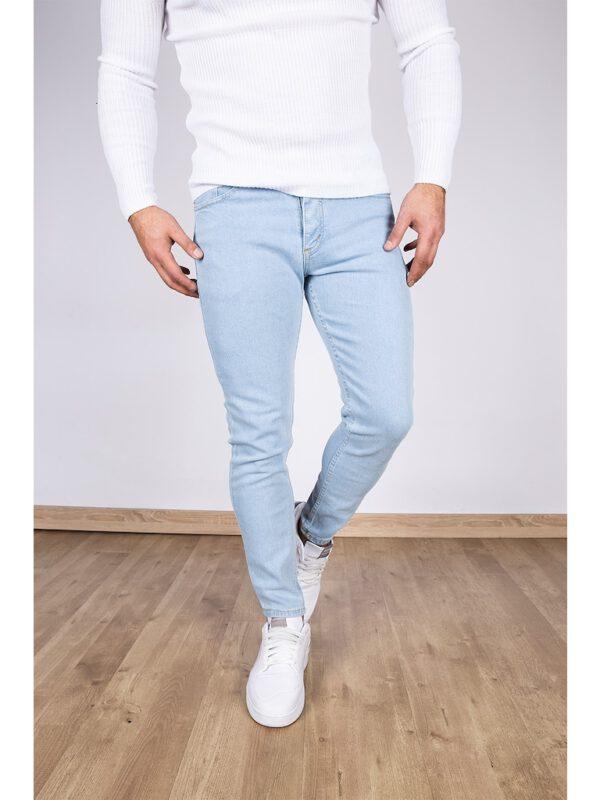 خرید شلوار جین مردانه آبی رنگ با ارسال مستقیم از ترکیه