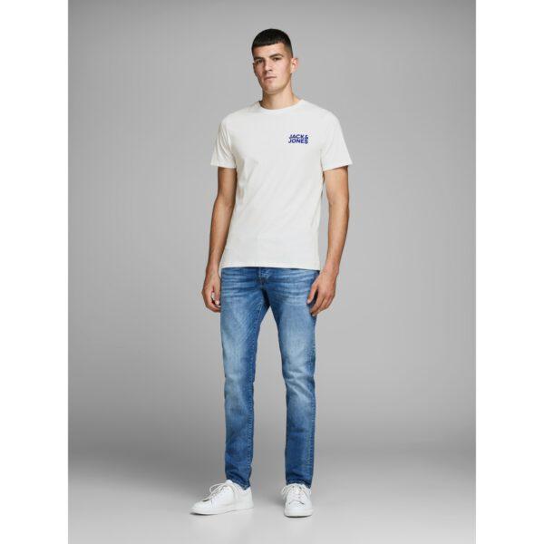 خرید اینترنتی تیشرت مردانه سفید رنگ برند jackjones از ترکیه