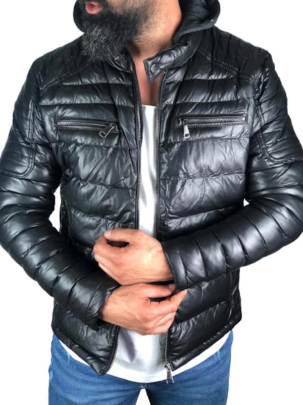 خرید اینترنتی کاپشن مردانه برند oliggopol ارسال از ترکیه