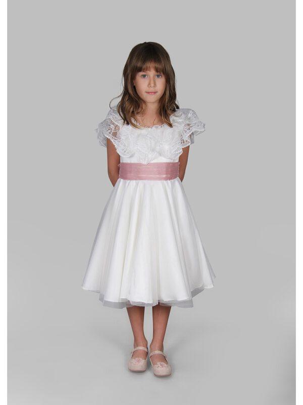 خرید اینترنتی لباس مجلسی دخترانه سفید ارسال از ترکیه
