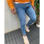 خرید اینترنتی شلوار جین مردانه آبی رنگ ارسال از ترکیه