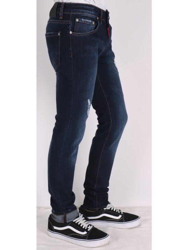 خرید اینترنتی شلوار جین مردانه آبی رنگ از ترکیه